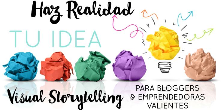 Hoy puedes empezar a cambiar tu vida con Visual Story Marketing con Sorpresa Final.
