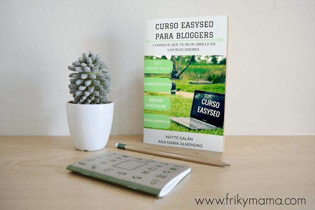 Lanzamiento del Ebook Curso Easyseo para bloggers