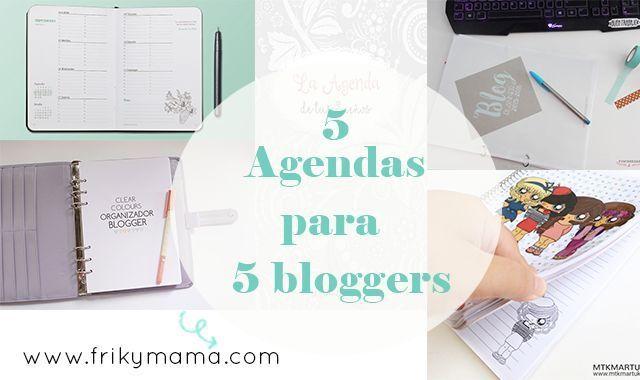 5 Agendas para 5 bloggers