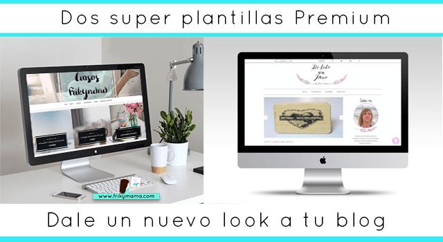 ¿Quieres una plantilla Premium personalizada para tu blog?