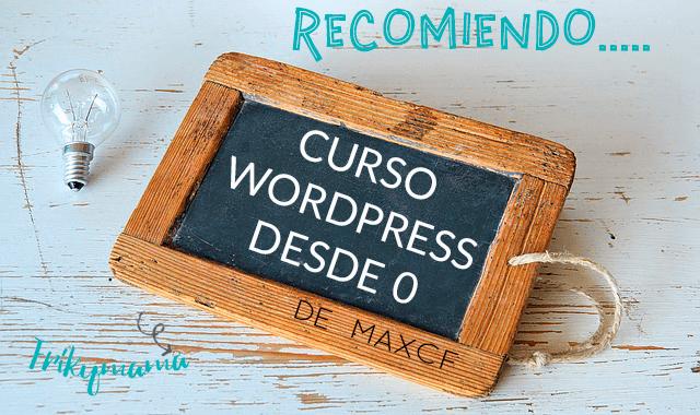 Un buen curso para crear tu web o blog con WordPress