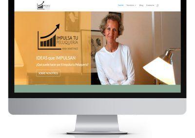 Diseño WordPress «Impulsa tu Peluqueria»