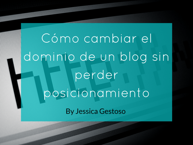cambiar el dominio del blog