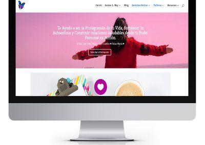 Diseño web «Autoestima y poder personal»