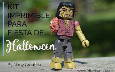 [Freebie] Kit de fiesta para Halloween