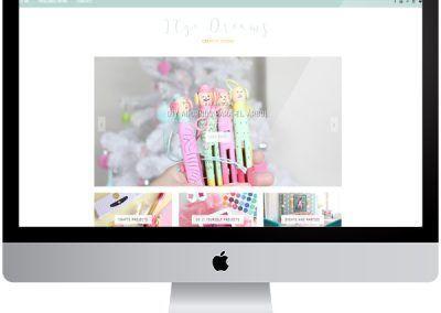 Diseño en Blogger «Itzidreams»