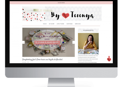 Diseño en Blogger «By Terenya»