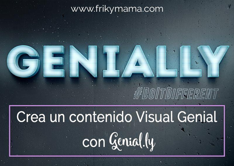 Crea un contenido visual Genial con Genial.ly