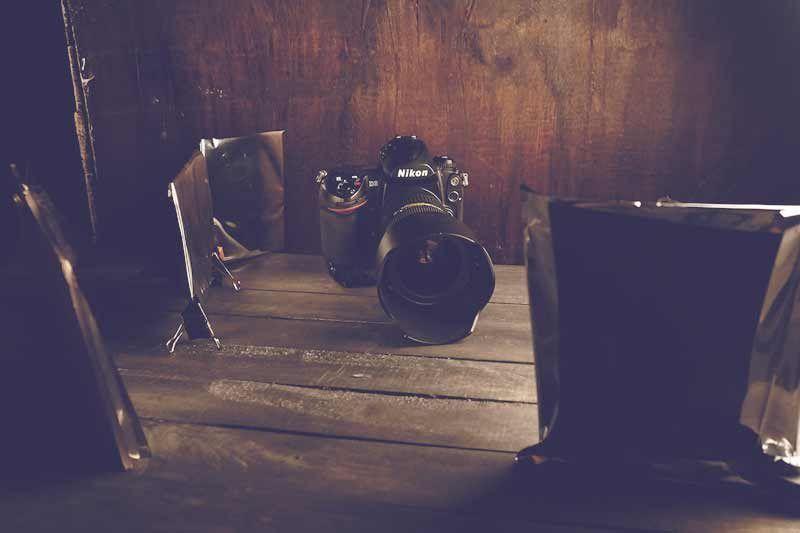 la luz en fotografía behind the scenes