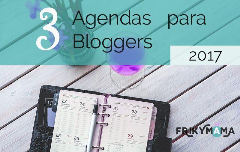 3 agendas para 3 bloggers
