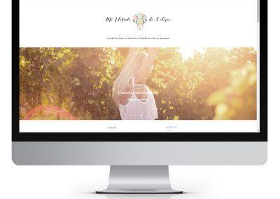 Diseño en WordPress «Mi elefante de colores»