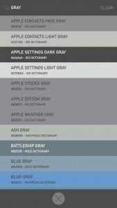 app-para-el -diseño-color-mate