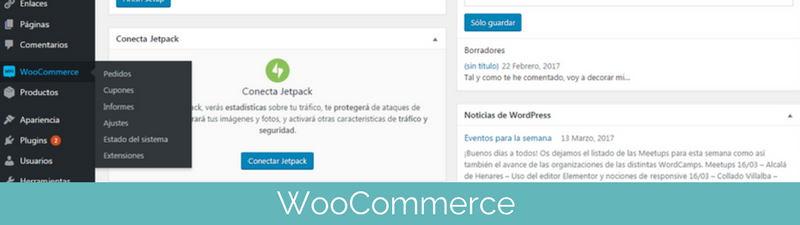 Tienda online WooCommerce en pasos para crear una tienda online