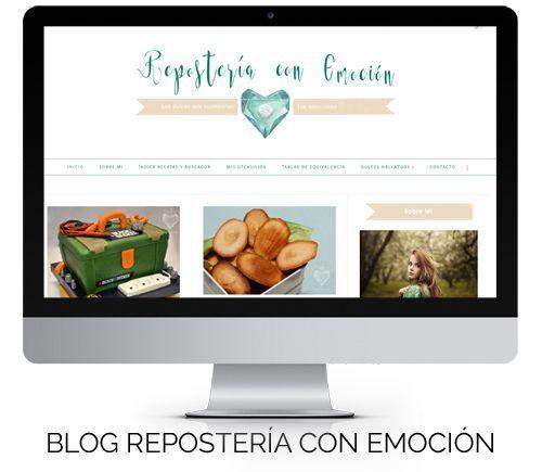 Diseño en Blogger Repostería con Emoción