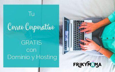 Tu correo corporativo gratis con Dominio y Hosting