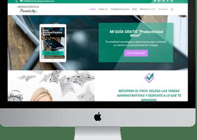 Diseño web Administrativa Proactiva