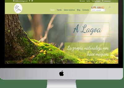 Diseño web+tienda Duende A lagoa