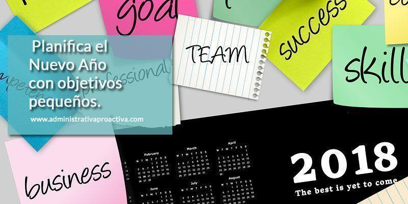Planifica tus objetivos del año nuevo
