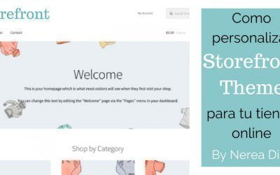 Como personalizar la plantilla Storefront en tu tienda online