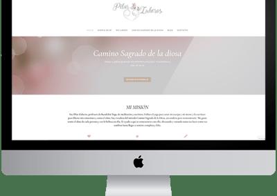 Diseño web en wordpress Pilarzuheros.com