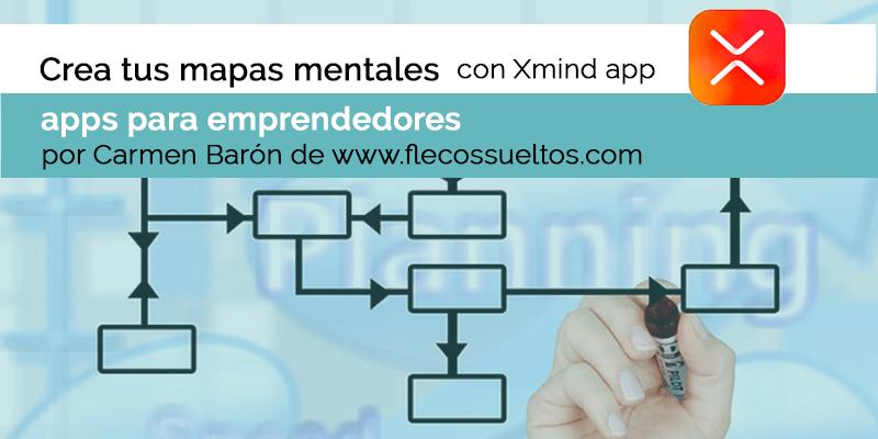 Crea mapas mentales en una app móvil: Xmind