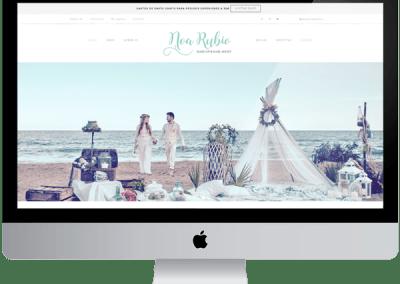 Web+ tienda online Noa Rubio Makeup