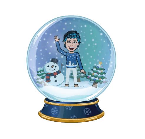 avatar navideño bitmoji