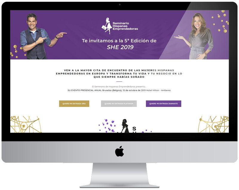 Diseño Web «Hispanas Emprendoras»