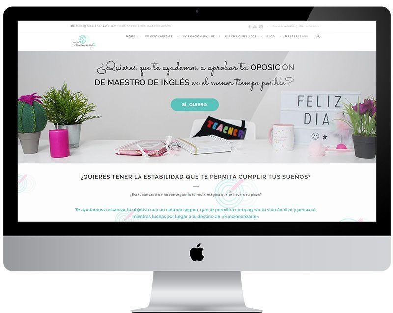Diseño web Funcionarizate.com