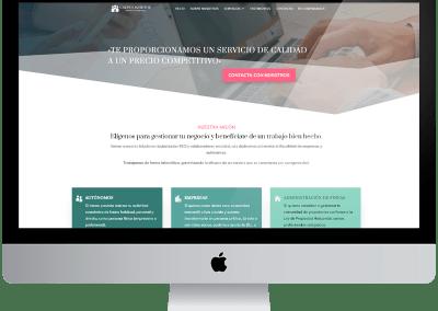 Diseño One Page en wordpress