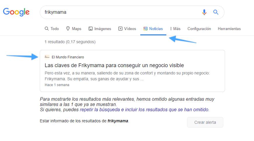 google news frikymama